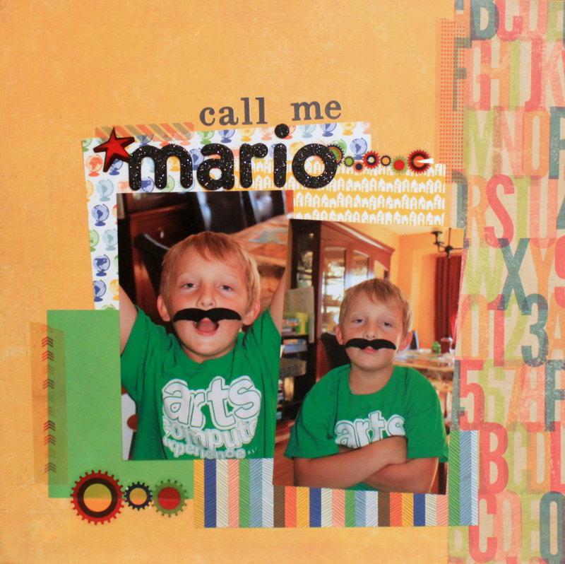 Call me Mario