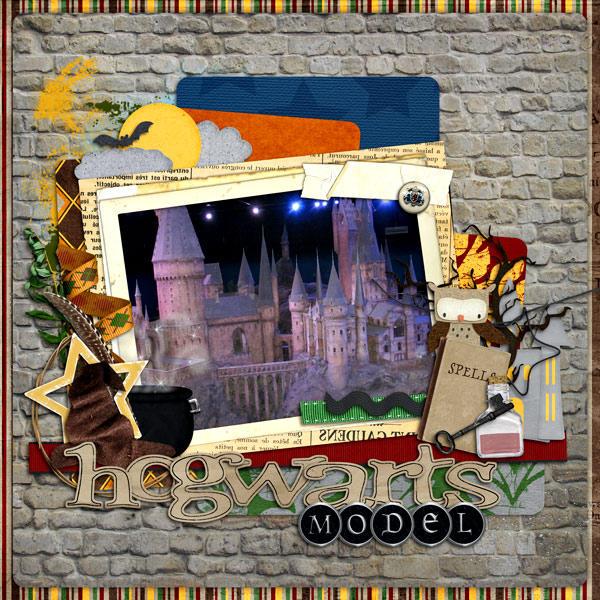 Hogwarts Model pg 1