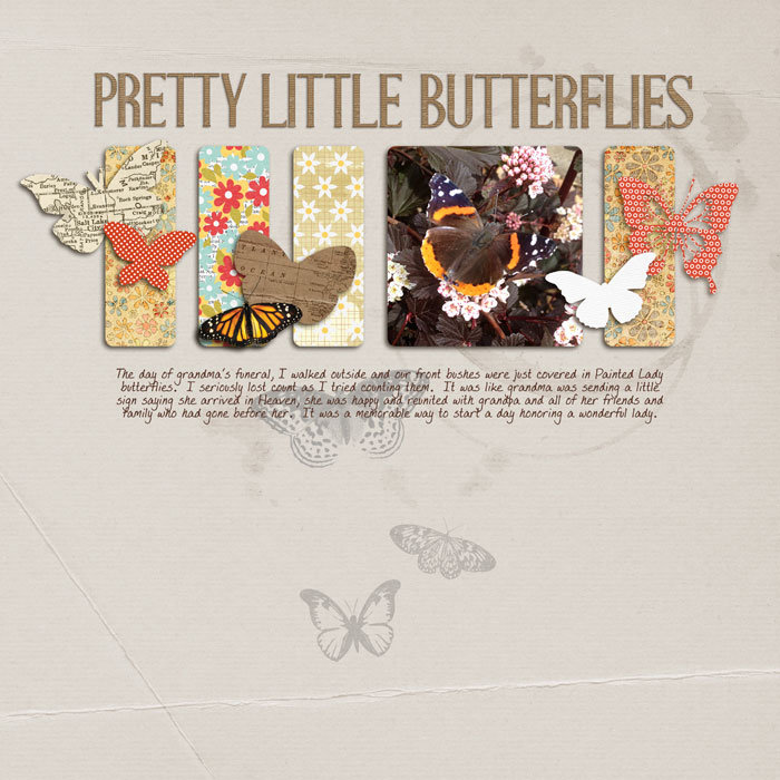butterflies.
