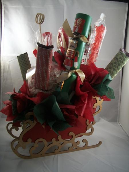 Sleigh Candy Bouquet