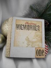 Polaroid photo mini album