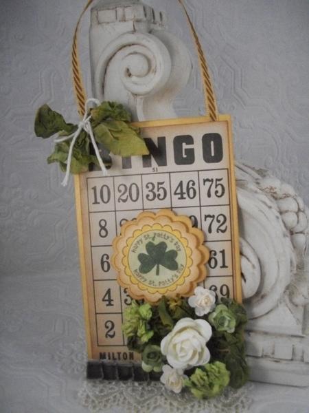 Altered Bingo card