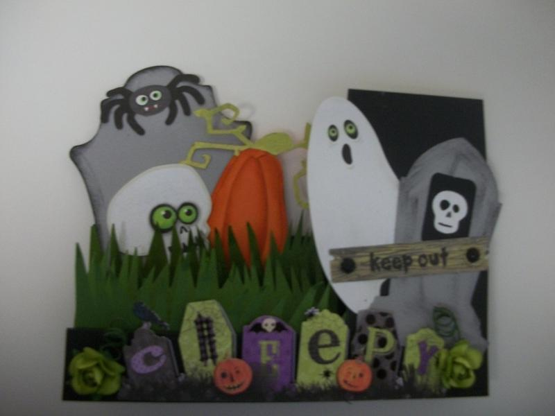 Step Halloween Card