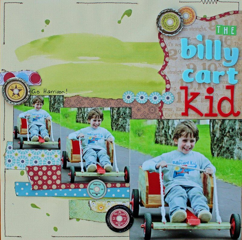 Bill Cart Kid. Published in Creating Keepsakes