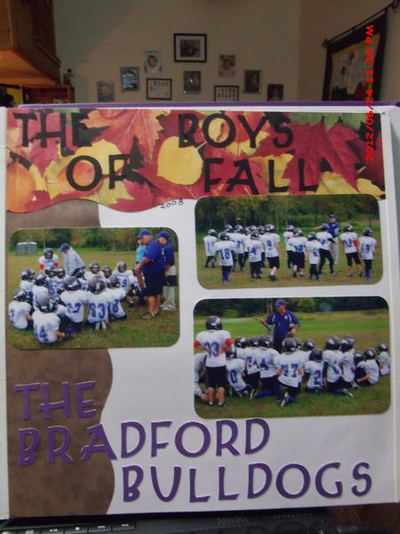 The Boys of Fall - The Bradford Bulldogs