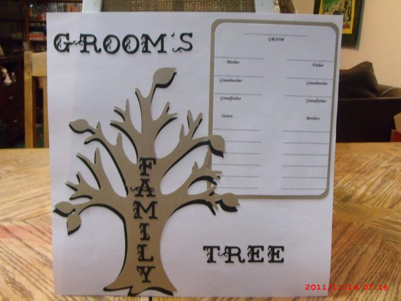 Groom's Family Tree