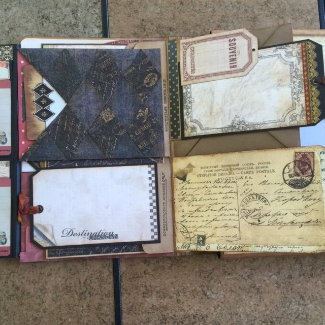 Tim Holtz Folio and Kathy Orta Foto Folio combined