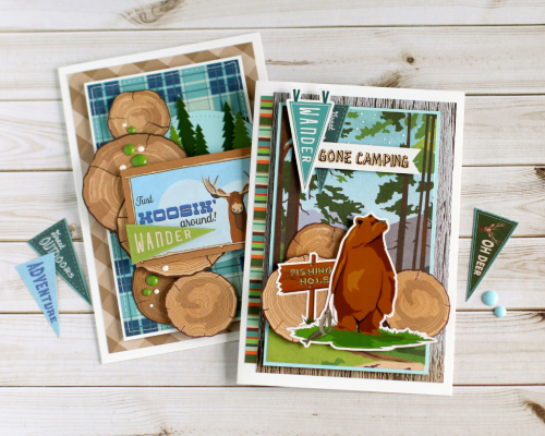 Gone Camping Cards