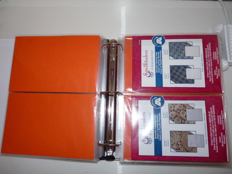 Organizing Embossing Folders