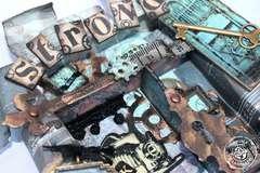 Craftsman Tin Shadow Box