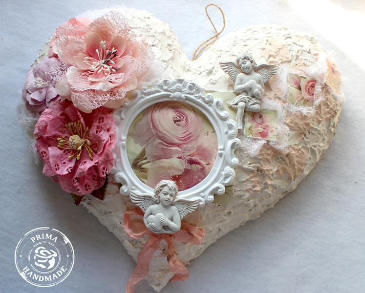 Shabby Chic Romance Heart Sign
