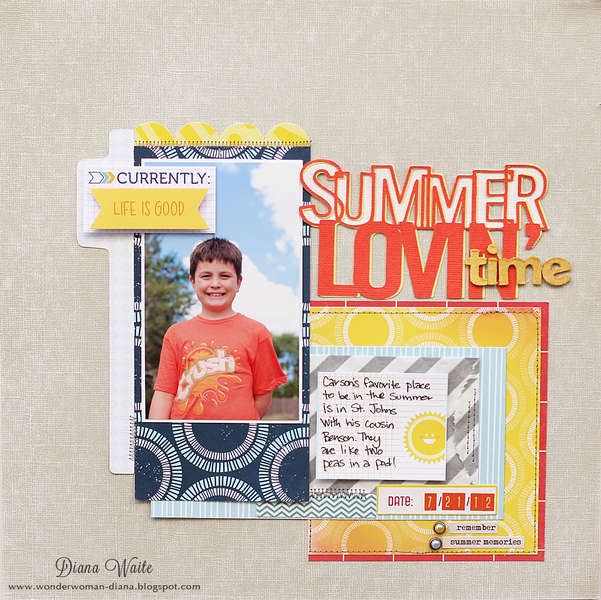 summer lovn' time *scrapbook circle*