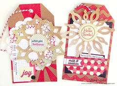 Christmas Tags *Elle's Studio*
