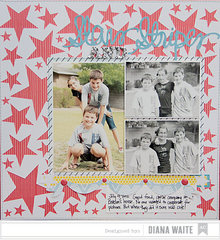 Stars and Stripes *American Crafts*