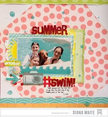 Summer #swim! *American Crafts*