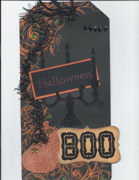 Halloween Mini Book Cover