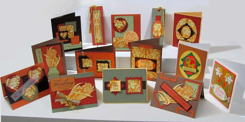 Kleenex box cards