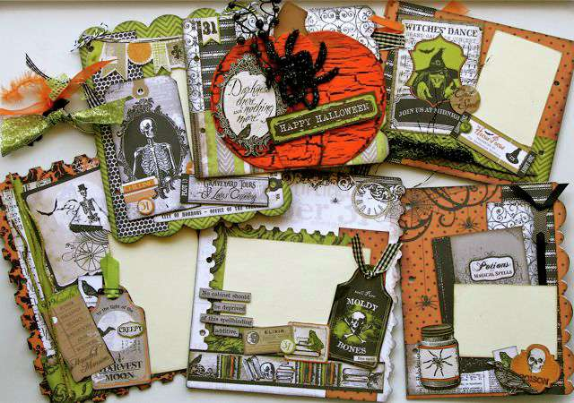 Halloween Spooktacular Mini Book