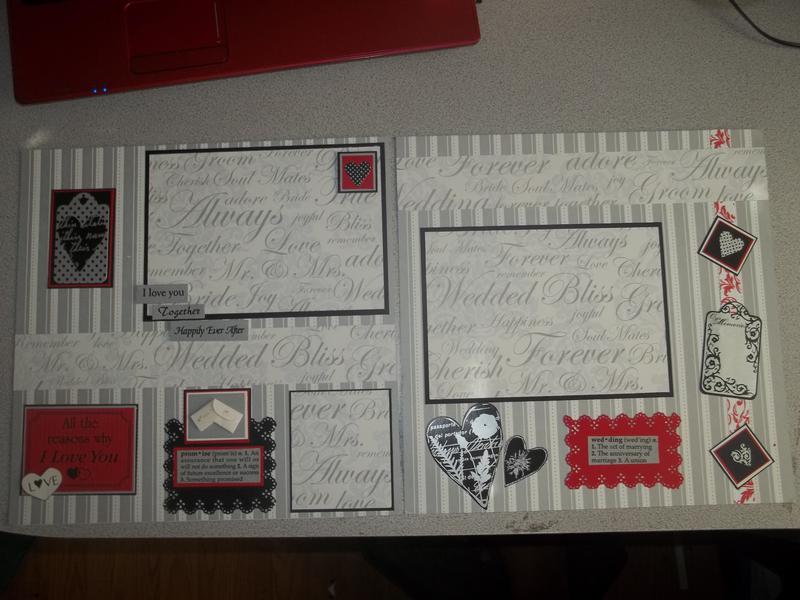 Wedding Layout Album