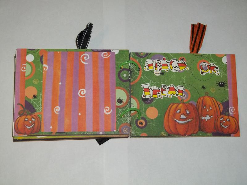 Halloween Mini Album
