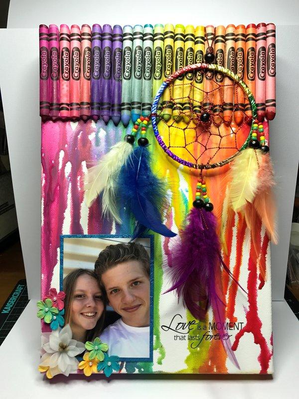 Love - Crayon Canvas