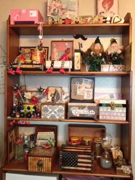Mom's crafting room