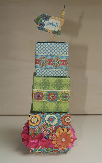 Stackable boxes gift idea