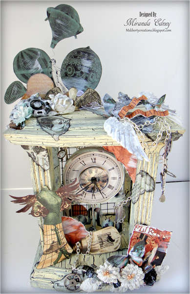 Steampunk Altered Clock