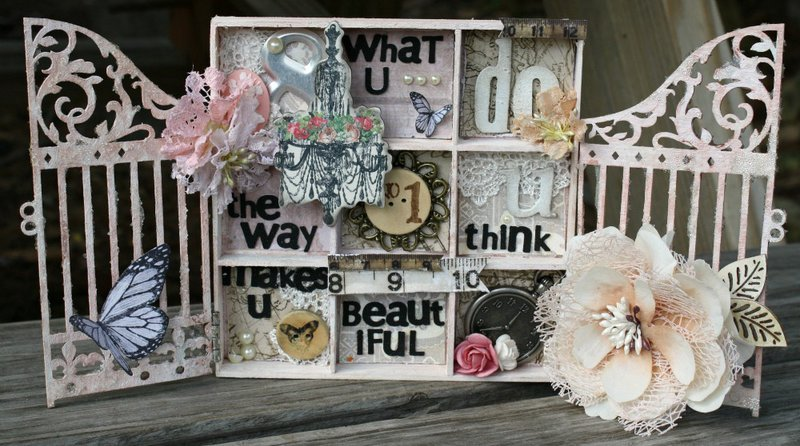 Shadow box tray for Swirlydoos