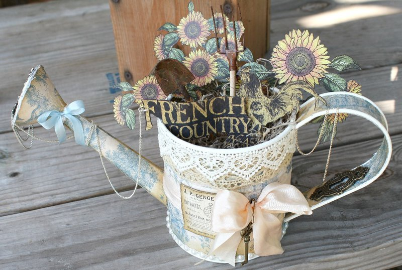 French Country Altered Watering CAn G45 DT