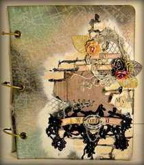 Prima Mixed Media Album**SWIRLYDOOS KIT CLUB**
