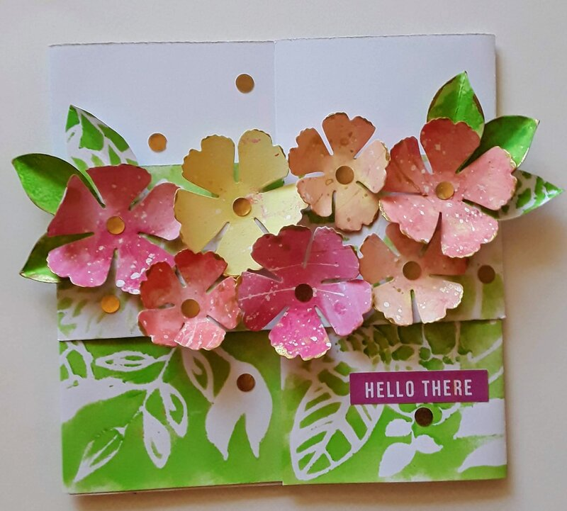 Gatefold Card with Band