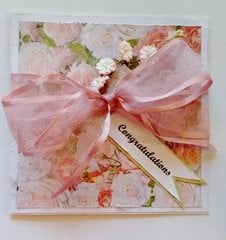 Pink Ribbon Card