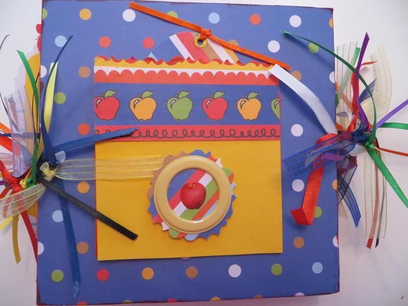 I Love Teaching! Chipboard/ Paper Bag Album