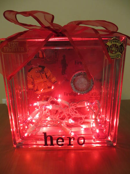 "Glass Block ""Hero"""