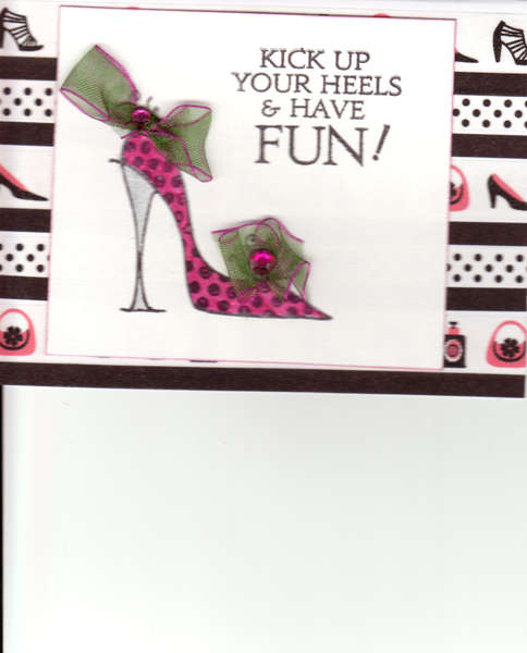 Kick up you heels and have fun