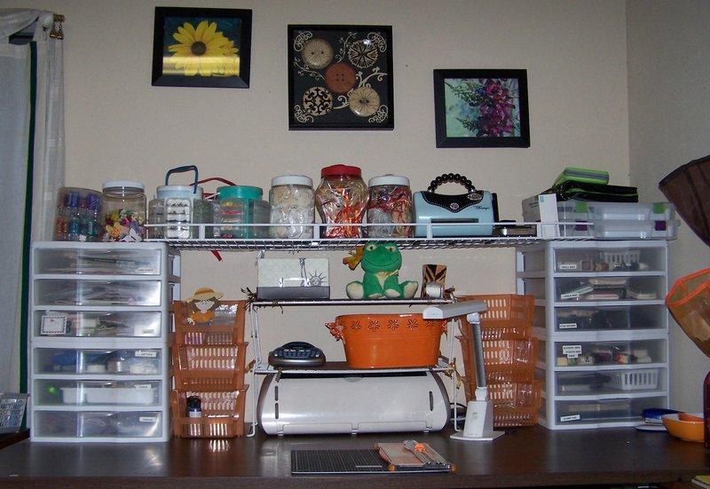 My Inexpensive Scrap Desk