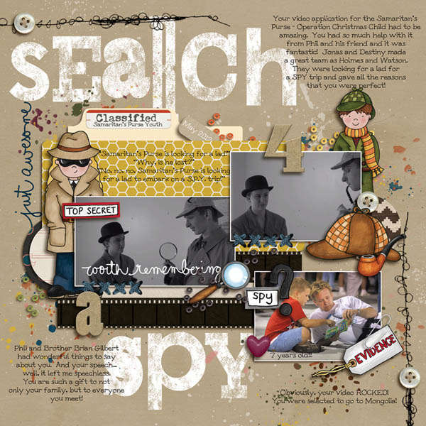 search 4 a spy