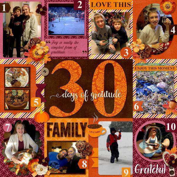 30 Days of Gratitude