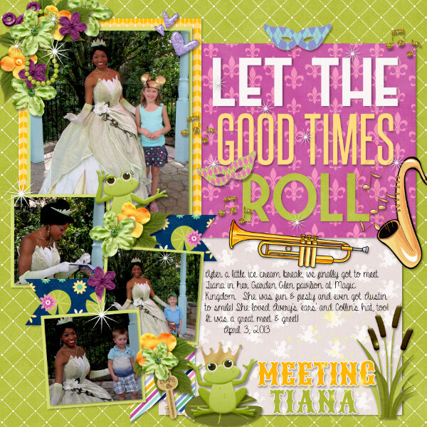 Let the Good Times Roll {Meeting Tiana}