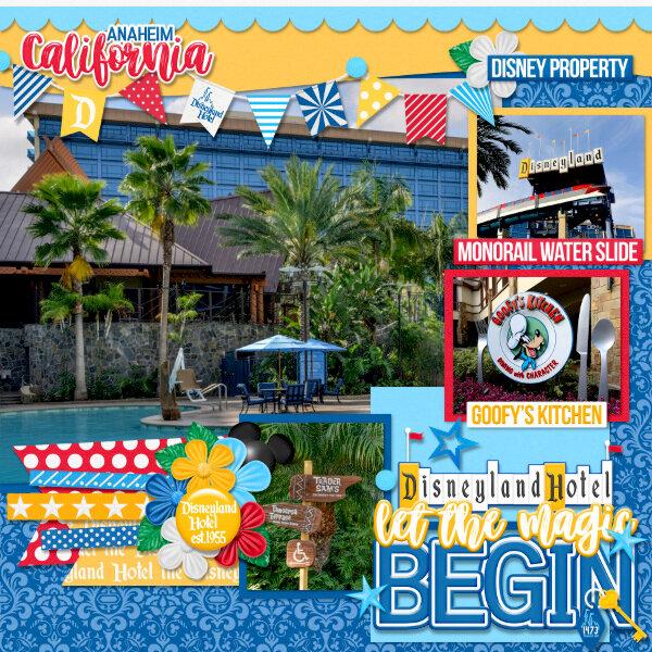 Let the Magic Begin Disneyland Hotel