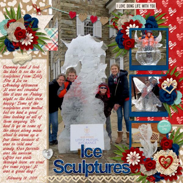 Ice Sculptures {2019}