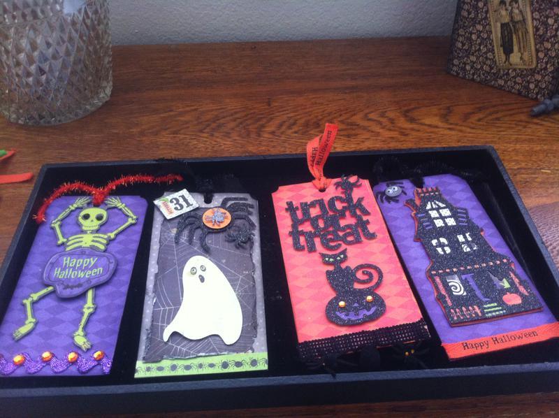 Haunted Halloween Tag Swap
