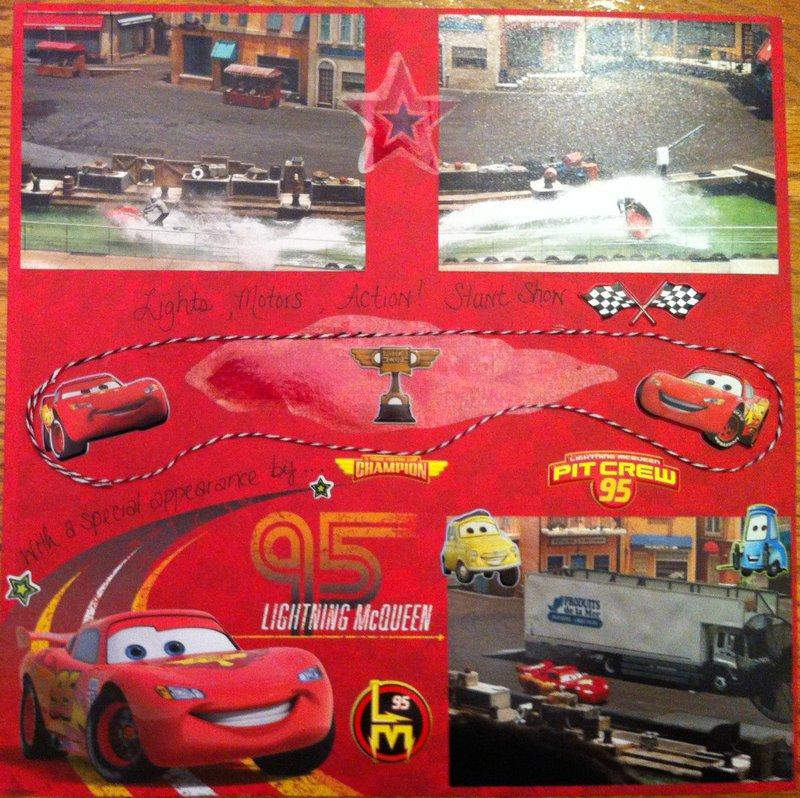 Lights, Motors, Action! Stunt Show with Lightning McQueen