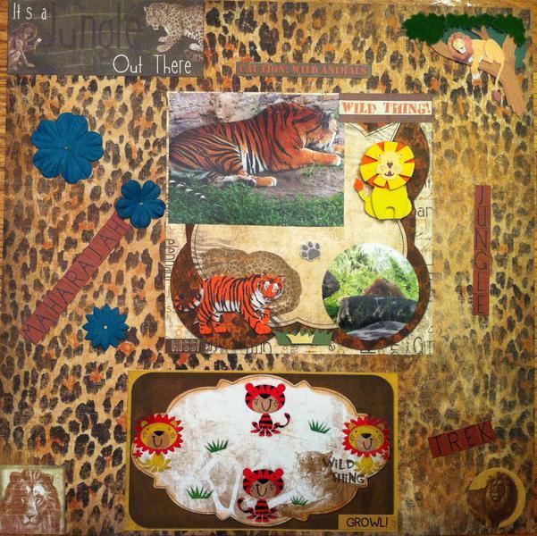 Maharajah Jungle Trek at Animal Kingdom