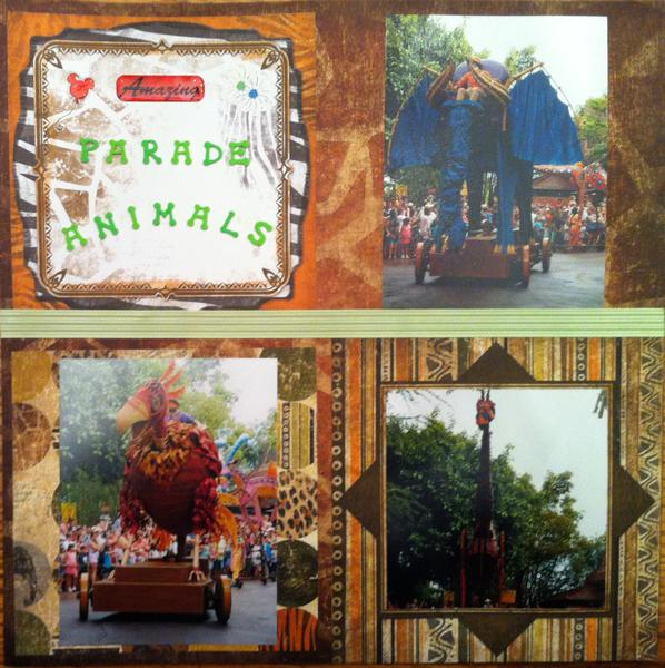 Mickey's Jammin' Jungle Parade Animals