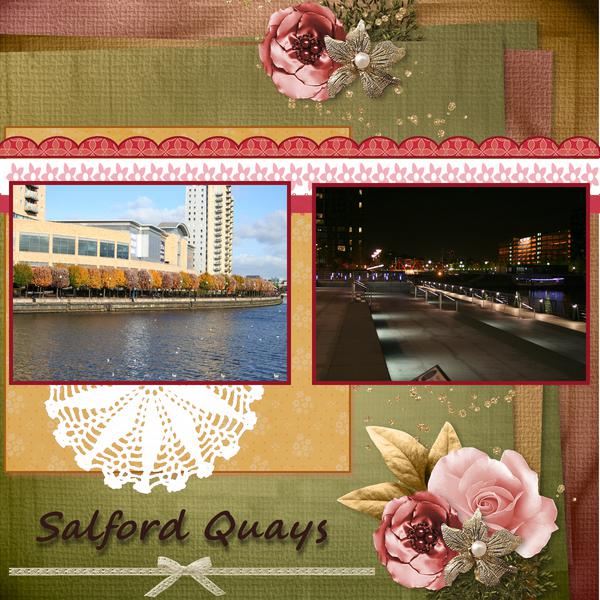 Salford Quays by day & night