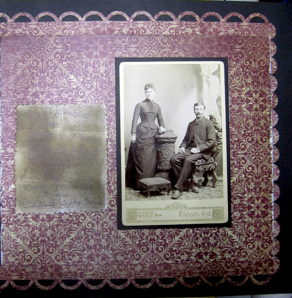 The Table cloth of family Photos 2
