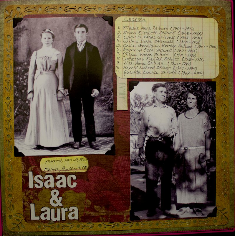 Isaac and Laura