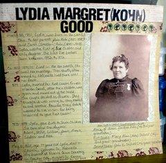 Lydia's Timeline